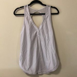 Lululemon Perforated and Mesh Tank Top